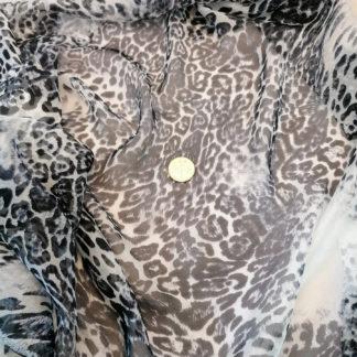 leopardmönstrad siden