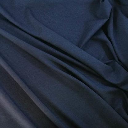 marinblå bambutrikå