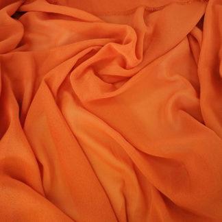 orange georgette