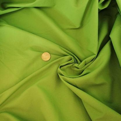limegrön poplin